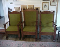 Antiques For Sale Deacon Chairs And Church Confessional Door